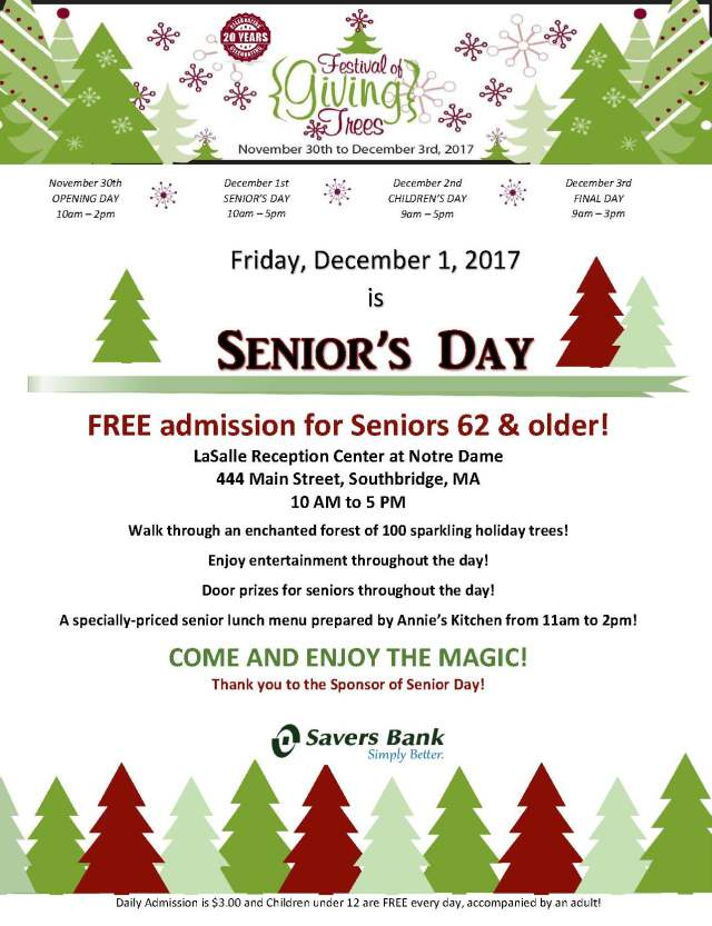 Senior Day Flyer